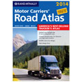 Rand McNally 528009184 2014 Motor Carriers' Road Atlas