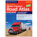 Rand McNally 528009192 2014 Deluxe Laminated Motor Carriers' Road Atlas