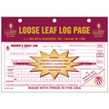 JJ KELLER 13-MP Loose Leaf Driver's Daily Log Sheets with 31 Duplicate Sets