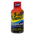 Living Essentials  218123 2oz. 5-Hour Energy Shots - Grape Flavor