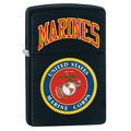 ZIPPO 218539 U.S. Marines Black Matte Finish Lighter - Standard Issue Series