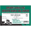 JJ KELLER 31-L Driver's Daily Log Book with Duplicate Copies - 31 Carbon Sets English/Spanish