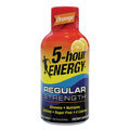LIVING ESSENTIALS 318120 5-Hour Energy(TM) Drink 12-Count Counter Display - Orange Flavor 