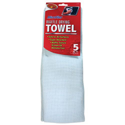 Detailin' Gear/Clean Rite/Tiger Accessories Microfiber Waffle Drying Towel at Sears.com