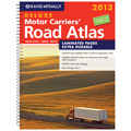 Rand McNally 528006363 2013 Deluxe Motor Carriers' Road Atlas