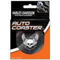 Chroma(TM) A PlastiColor(R) Company 627H Harley-Davidson Skull & Wings Coasters