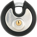 Brinks 67370001 70mm Commercial Stainless Steel Discus Lock with Jacket