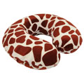 Northpoint Trading 72974 Memory Foam Travel Neck Pillow Animal Print