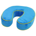Northpoint Trading 73823 Memory Foam Travel Neck Pillow Bright Blue