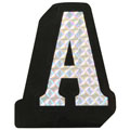 RoadPro 78084D A Prism Style Adhesive Letter