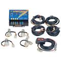 Wolo Manufacturing 80043AAAA 8004 Series Emergency 4 Bulb Strobe Light Kit - Amber