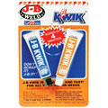 JB WELD 8276 Cold Weld Compound with 1oz. Kwik(TM) Steel & 1oz. Kwik(TM) Hardener