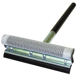 "Car and Driver 8"" Metal Head Squeegee with Heavy Duty Sponge and 16"" Wood Handle at Sears.com"