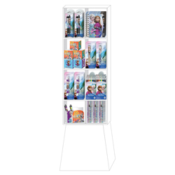 National Design 96037A Disney Frozen Side Kick Display 71-Piece Assortment