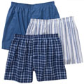 Fruit Of The Loom BL550XL Men's Boxers - X-Large Assorted Patterns/Colors 3-Pack