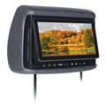 Concept BSD705 Chameleon 7 LCD/DVD Headrest with 3 Color Covers