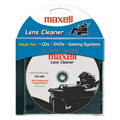 Maxell CD240 CD/DVD Lens Cleaner with Advanced Angled Brush                 