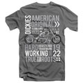 Dickies DKSTASST3XL 3X-Large T-Shirt with Screen Printed Design Grey