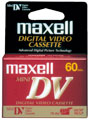 MAXELL DVM-60 60 Minute Mini DV Digital Video Cassette - Single 