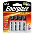 EVEREADY E-91BP4 AA Energizer(R) Alkaline Batteries - 4-Pack