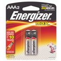 EVEREADY E-92BP2 AAA Energizer(R) Alkaline Batteries - 2-Pack