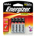 EVEREADY E-92BP4 AAA Energizer(R) Alkaline Batteries - 4-Pack