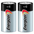EVEREADY E-93BP2 C Energizer(R) Alkaline Batteries - 2-Pack