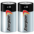 EVEREADY E-95BP2 D Energizer(R) Alkaline Batteries - 2-Pack