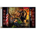 Hot Leathers FGA1008 3'x5' Vietnam Wall Flag