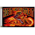 Hot Leathers FGA1026 3'x5' Street Rider Flag