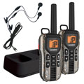 Uniden GMR40882CKHS Two-Way Realtree Xtra Camouflage Radios with Charger and Headsets  2-Pack