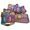 Misc Travel/Apparel/Bedding/Health & Grooming HB4ASST Cotton Print Hobo Bag/ Purse Assortment