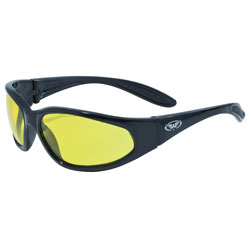 Global Vision HERCYT Hercules Safety Glasses with Yellow ...
