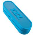 iHome IM14LC Jumbo Snooze Bar Alarm Clock with USB Charging Blue