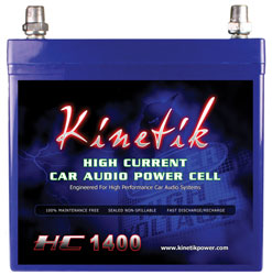 Buy Kinetik Car Audio - Kinetik KHC1400 1400 Watt High Current Car Audio Power Cell