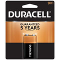 DURACELL MN-1604B 9-Volt Alkaline Battery - Single Pack