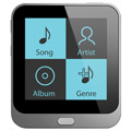 Coby MP8004G 4GB MP3 Player with 1.44 Touch Screen & Video