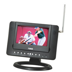 "Naxa NTD7561 7"" Digital LCD TV with DVD Player & SD/MMC/USB Inputs at Sears.com"