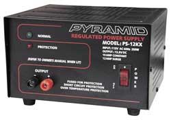 Pyramid 10 Amp Power Supply
