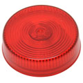 ROADPRO RP-1010R 2.5 Round Sealed Light - Red