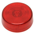 ROADPRO RP-1030R 2 Round Sealed Light - Red