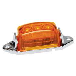 RoadPro 1-3/4 x 1 LED Clearance/Marker Light - Amber  Single Pack at Sears.com