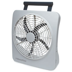 "RoadPro RP73002 10"" 12-Volt or Battery Dual Power Portable Fan at Sears.com"