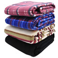 RoadPro RPAPB1 85 x 62 Travel Blanket Assorted Colors 