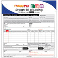 ROADPRO RPBOL-25 Straight Bill of Lading Sheets with Triplicate Sets - 25-Pack (Carbon)