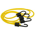 ROADPRO RPJS-HD40 40 Heavy Duty Stretch Cords with Anti-Scratch Hooks - 10mm 2-Pack