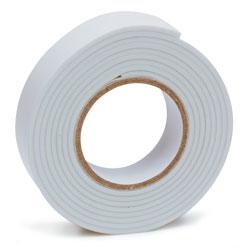 RoadPro Double Faced Foam Tape - White 3/4 x 5' Roll