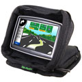 Bracketron UFM300BX GPS Nav-Pack Weighted Dash Mount/Carrying Case - Black 
