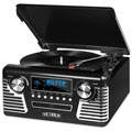 Victrola V50200BK V50's Retro Record Player with Bluetooth and CD Player & USB  Black