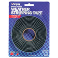 BELL/VICTOR V701 3/4 x 8' Sponge Rubber Weather Stripping Hi-Density Tape
